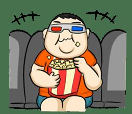 Fat Boy Mr.Moo sticker #5051301