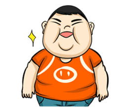 Fat Boy Mr.Moo sticker #5051304