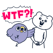 สติ๊กเกอร์ไลน์ Animated Mentori × Betakkuma