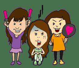 IDOL OTAKU GIRLS!!2 sticker #5055345