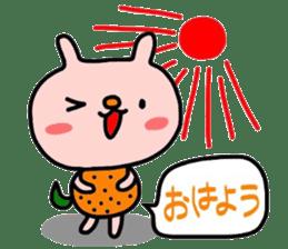 Rabbit & orenges vol2 sticker #5057430