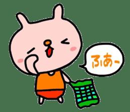 Rabbit & orenges vol2 sticker #5057431