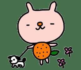 Rabbit & orenges vol2 sticker #5057434