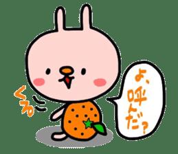 Rabbit & orenges vol2 sticker #5057441
