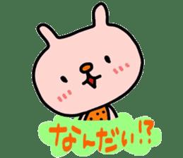 Rabbit & orenges vol2 sticker #5057442