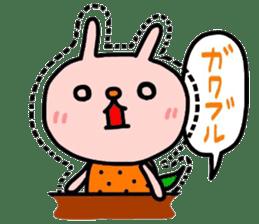 Rabbit & orenges vol2 sticker #5057449