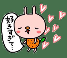 Rabbit & orenges vol2 sticker #5057452