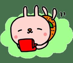 Rabbit & orenges vol2 sticker #5057458