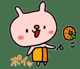 Rabbit & orenges vol2 sticker #5057459