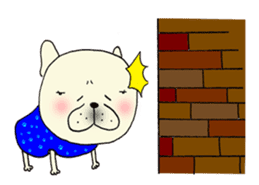 Funny 19 dogs 24 people sticker #5059756