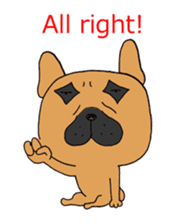 Funny 19 dogs 24 people sticker #5059768