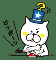 A little eccentric cat and friends sticker #5060951