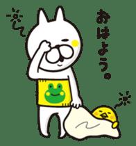 A little eccentric cat and friends sticker #5060960