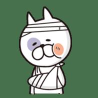 A little eccentric cat and friends sticker #5060961