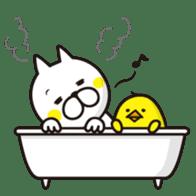 A little eccentric cat and friends sticker #5060962