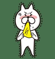 A little eccentric cat and friends sticker #5060969