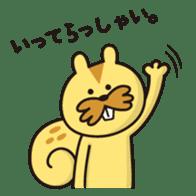 A little eccentric cat and friends sticker #5060981