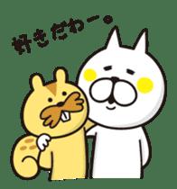 A little eccentric cat and friends sticker #5060983