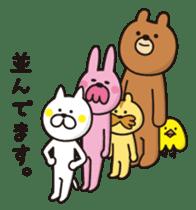 A little eccentric cat and friends sticker #5060988