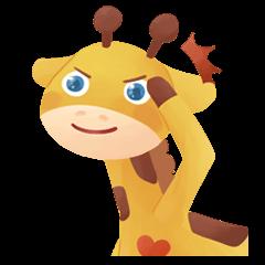 Annie the Giraffe