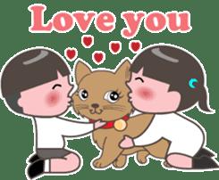 Hallelujah God is love sticker #5063375