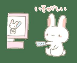 Fluffy bunnies sticker #5063508