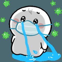 สติ๊กเกอร์ไลน์ N9: มนุษย์ออฟฟิศ เราต้องรอด!!