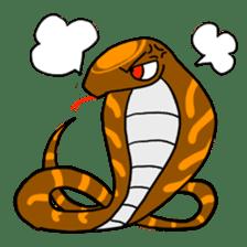 Cute? Snake Sticker sticker #5065759