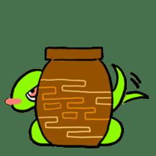 Cute? Snake Sticker sticker #5065760