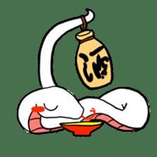 Cute? Snake Sticker sticker #5065763