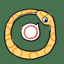 Cute? Snake Sticker sticker #5065767