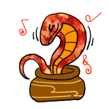 Cute? Snake Sticker sticker #5065780