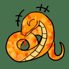 Cute? Snake Sticker sticker #5065786