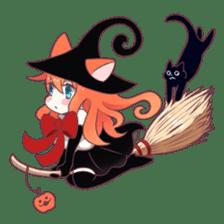 A Magic Cat Girl sticker #5066151