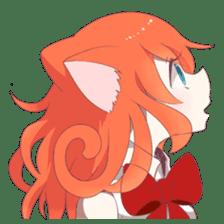 A Magic Cat Girl sticker #5066153