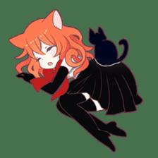 A Magic Cat Girl sticker #5066161