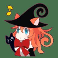 A Magic Cat Girl sticker #5066162