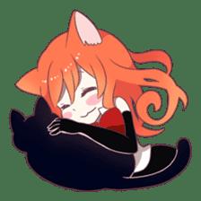 A Magic Cat Girl sticker #5066180