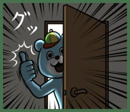 Dear animal costume sticker #5069476