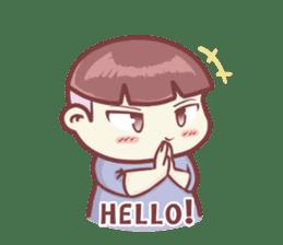 "Discount Boy ""Bao-Wan""(ENG) sticker #5071142"