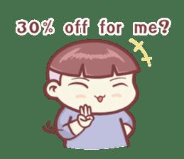 "Discount Boy ""Bao-Wan""(ENG) sticker #5071149"