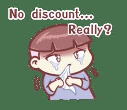 "Discount Boy ""Bao-Wan""(ENG) sticker #5071152"