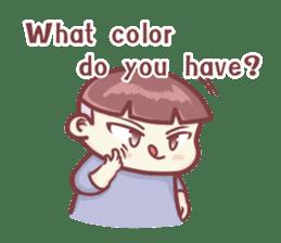 "Discount Boy ""Bao-Wan""(ENG) sticker #5071153"