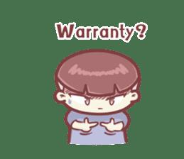 "Discount Boy ""Bao-Wan""(ENG) sticker #5071164"