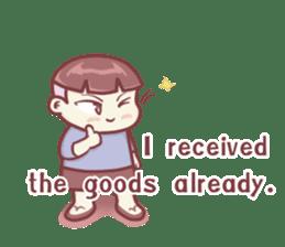 "Discount Boy ""Bao-Wan""(ENG) sticker #5071167"