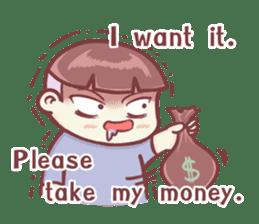 "Discount Boy ""Bao-Wan""(ENG) sticker #5071173"