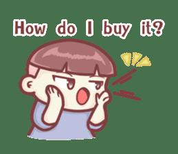"Discount Boy ""Bao-Wan""(ENG) sticker #5071175"