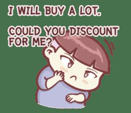 "Discount Boy ""Bao-Wan""(ENG) sticker #5071179"