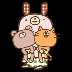 SABU-chan with friends