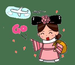 Pink Taiwan Princess sticker #5081202